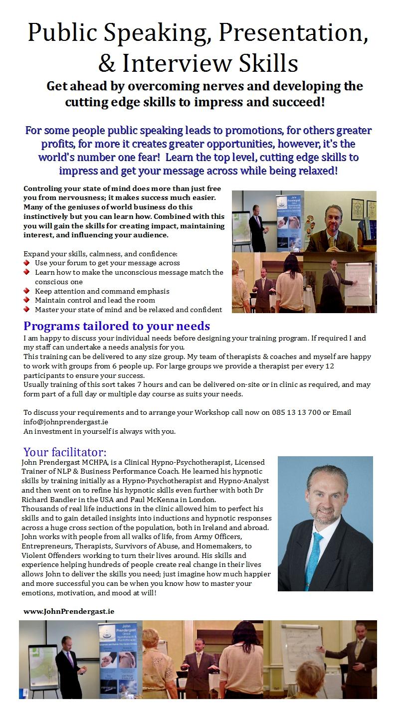 presentation interview skills ie presentation interview skills