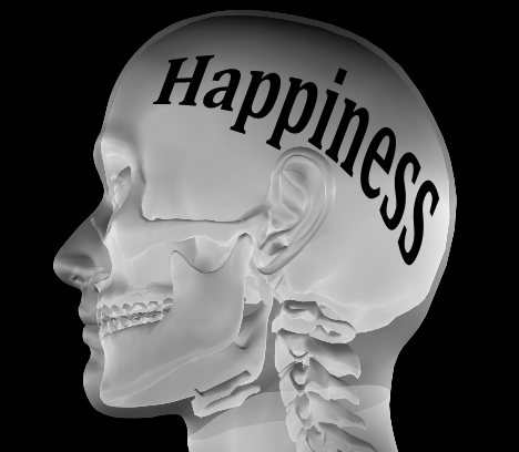 Happiness in the mind